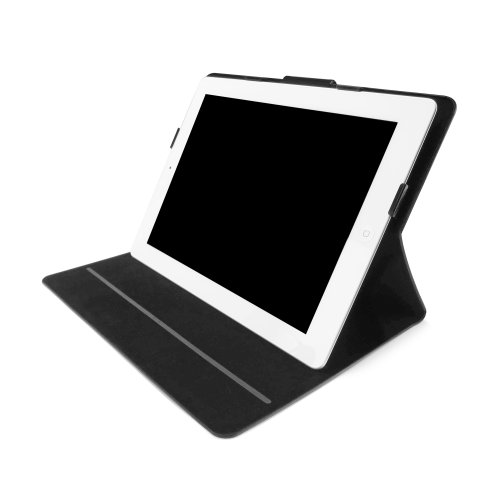 iLuv ThinFolio Slim Folio Cover for iPad - Black (iCC832BLK)