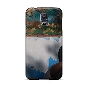 Shock Absorbent Hard Phone Cover For Samsung Galaxy S5 (nRb13060ayQn) Provide Private Custom Colorful Breaking Benjamin Image