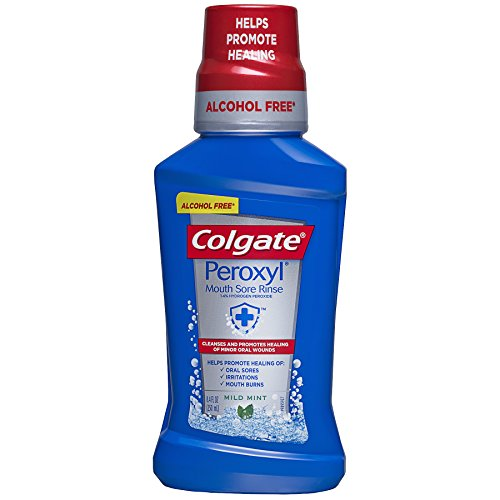 Colgate Peroxyl Mouth Sore Rinse, Mild Mint, 8.45 fl. oz.
