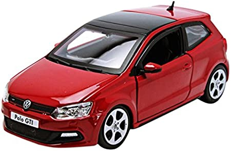 Bburago 2010 VW Polo 5 GTI 21059, Rojo, 1:24 Die Cast: Amazon.es ...