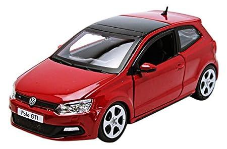 Bburago 2010 VW Polo 5 GTI 21059, Rojo, 1:24 Die Cast: Amazon.es ...