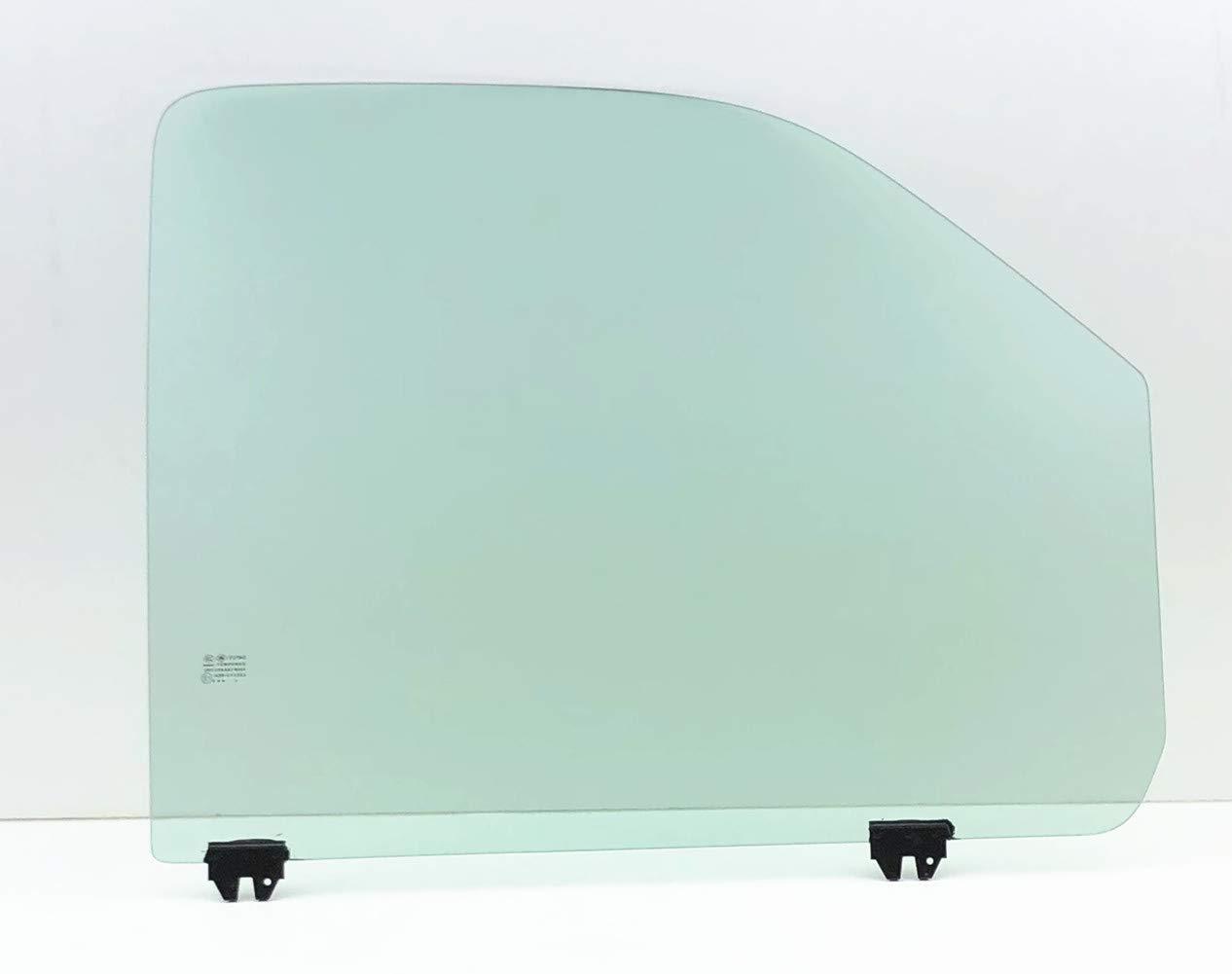 1500 2500 3500 Passenger Side Right Front Door Window Glass NAGD Fits 1996-2018 GMC Savana /& Chevrolet Express Van