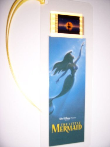 LITTLE MERMAID Movie Film Cell Bookmark Memorabilia Collectible Complements Poster Book Theater