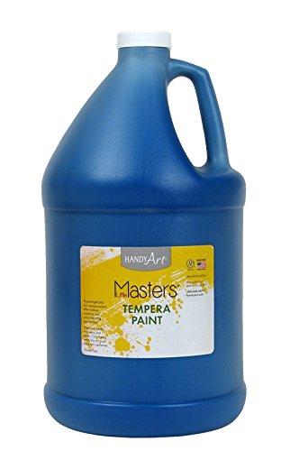 Handy Art Little Masters Tempera Paint Gallon, Blue
