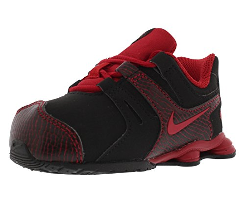 Nike Shox Current Baby Boy's Running Shoes Size US 4, Regular Width, Color Black/Red - Nike Running Shox