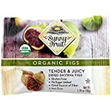 Sunny Fruit Organic Dried Figs, Single Pack