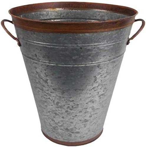 Craft Outlet Two Tone Flower Bucket