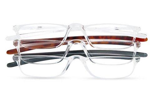 Optx Reading Glasses (Optx 20/20 Techoptx Reading Glasses, 3 Count, (+1.75))