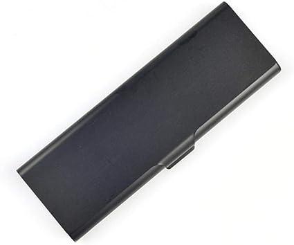 Estuches BlackStationery Caja de lápices de metal Estuche para lápices Aleación de aluminio Fina Caja pequeña Suministros de almacenamiento para amigos Regalos para niños: Amazon.es: Oficina y papelería