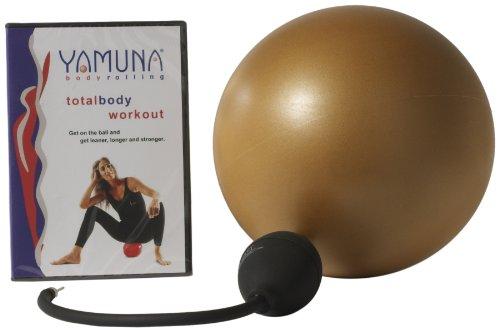 Yamuna Body Rolling Gold Ball Kit by Yamuna