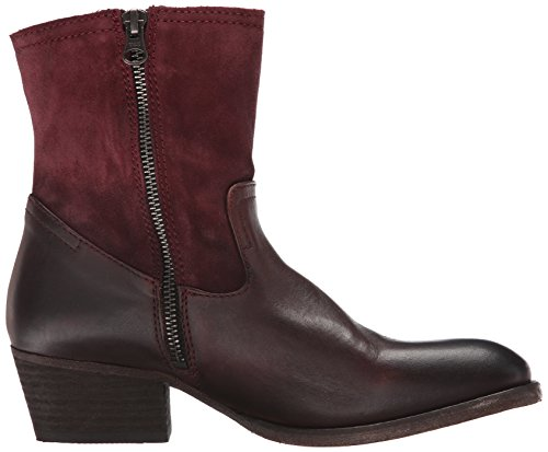 H Door Hudson Womens Riley Western Boot Bordo