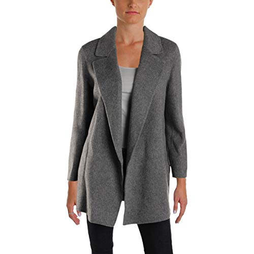 Theory Women's Clairene Outerwear, Charcoal Melange S