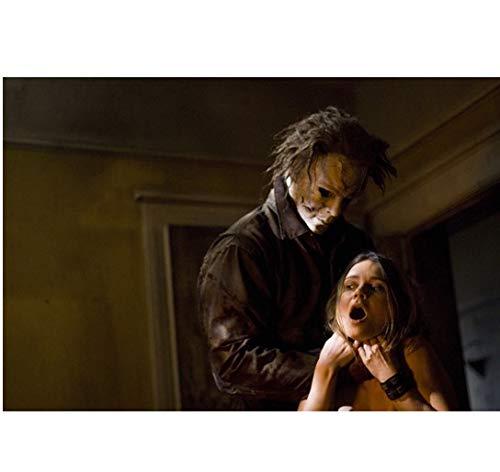 Halloween Michael Myers choking girl 8 x 10 Inch Photo