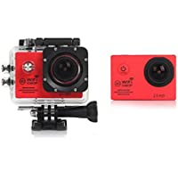 "Boyiya SJ7000 2"" WIFI 1080P HD Action Camera Waterproof Sports DV Pro Camcorder New HOT (Red)"