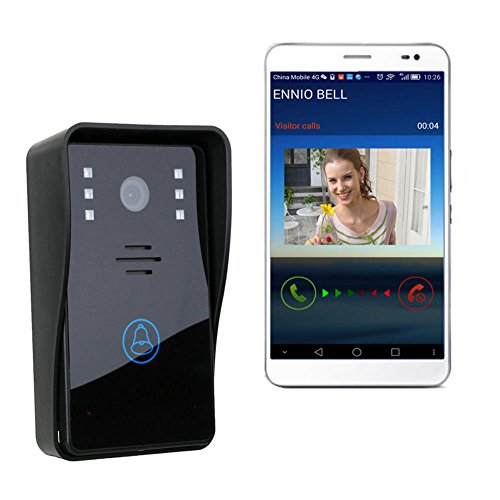 Thegood88 Smart Wireless WiFi Video Camera Door Phone Doorbell Intercom Monitor Security