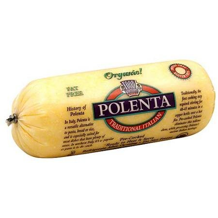 Food Merchants Organic Polenta Traditional Italian, 18 Ounce by Food Merchants