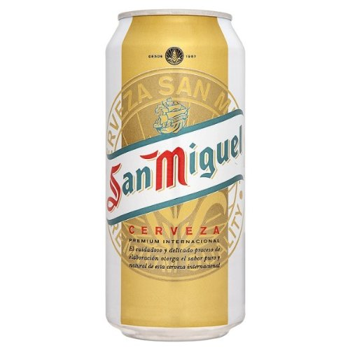 San Miguel Lager (24 x 500ml Cans)