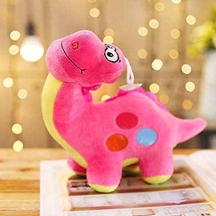 WYBL Mini Dinosaurio Anime Relleno Felpa Colgante Fluffy ...