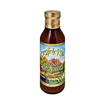 Organic Hot and Spicy BBQ Sauce 13.50 Ounces (Case of 6)