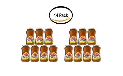 PACK OF 14 - Pace Peach Mango Medium Restaurant Style Salsa, 16 oz 14k Peach