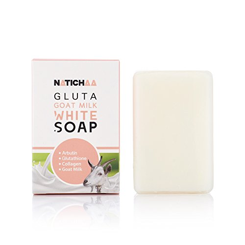 Soft Collagen (Glutathione & Goat Milk Whitening Soap - Natural Lightener Formula With Coconut Oil, Vitamins, Collagen And Arbutin For Smooth And Soft Skin, Skin Tone Correction & Dark Spots Elimination)