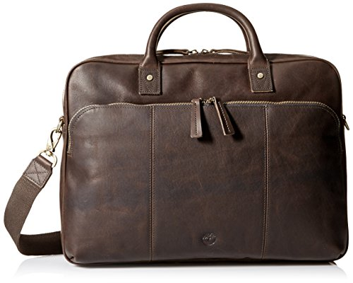 Timberland Men's Tuckerman Leather Briefcase by Timberland