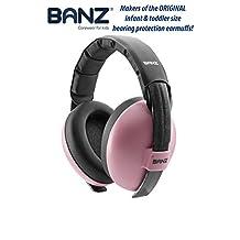 BABY BANZ BlueTooth Earmuffs, Pink, Mini