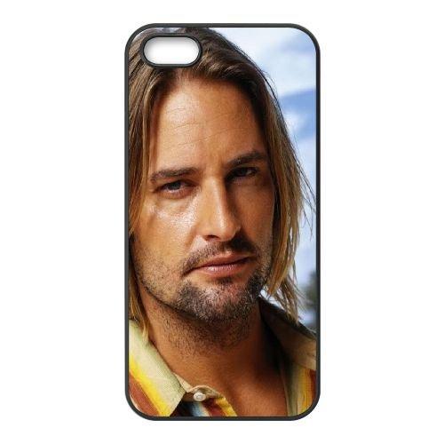 Josh Holloway Actor Celebrity Long Hair Man Blonde coque iPhone 5 5S cellulaire cas coque de téléphone cas téléphone cellulaire noir couvercle EOKXLLNCD24941