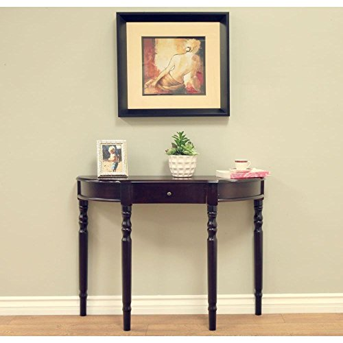 Foyer Console Game : Entry way cherry console hall table electronics video game