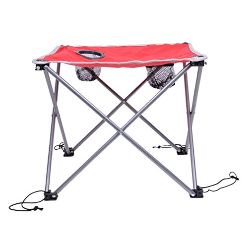 Z ZTDM Ultralight Portable Folding Camping Table for Beach Picnic Camp Patio Fishing Hiking Indoor RV