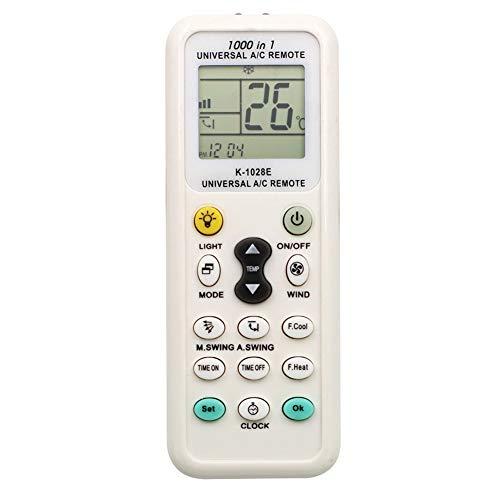 Eleganantamazing - Mando a Distancia Universal LCD para Aire Acondicionado (bajo Consumo de energía)