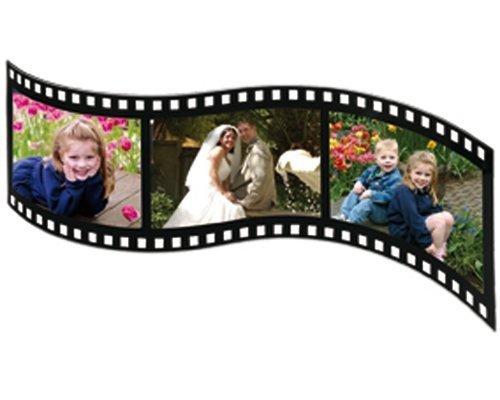 StealStreet FilmStrip Photograph Frame (Holds 3-5 X 3.5), 14.25