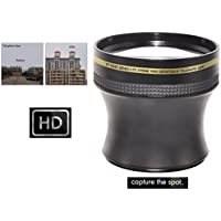 Hi Def Xtreme 4.7x Telephoto Lens for JVC GC-PX100 GZ-GX1