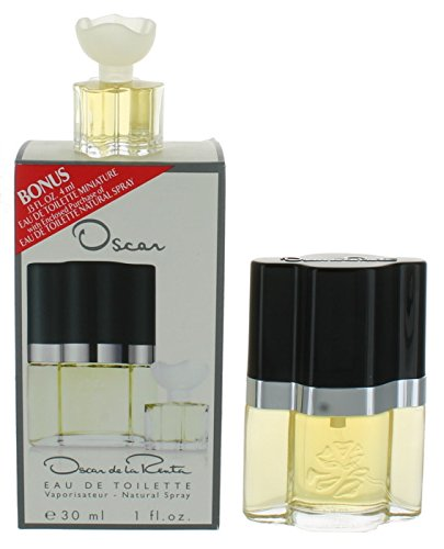 Oscar de la Renta Oscar Gift Set 1.0oz (30ml) EDT + 0.1oz (4ml) Mini (Mini 0.1 Ounce Edt)