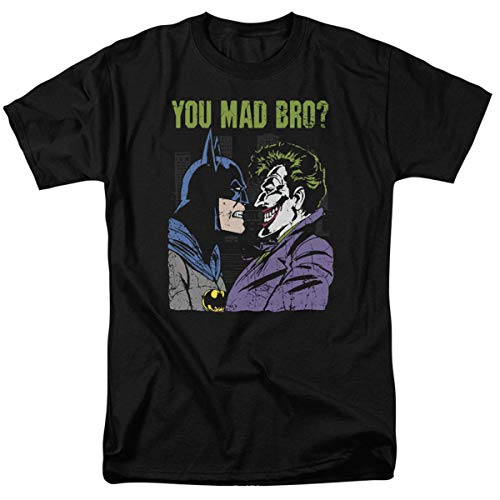 (Batman Vs. The Joker You Mad Bro T Shirt & Exclusive Stickers)