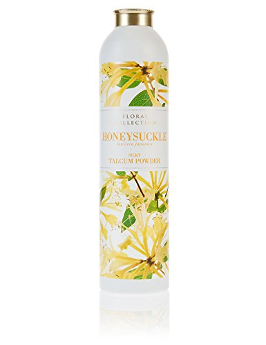 MARKS & SPENCER Honeysuckle Talcum Powder 200 g. (5 Pack) by Marks & Spencer