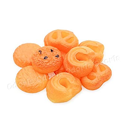 Odoria 1:12 Miniature 10Pcs Butter Cookies with 2Pcs Cans Dollhouse Kitchen Accessories: Toys & Games