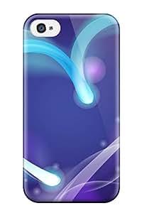 New Design Shatterproof XTHMGXh18580jTvMS Case For Iphone 4/4s (bright Neon Heart )