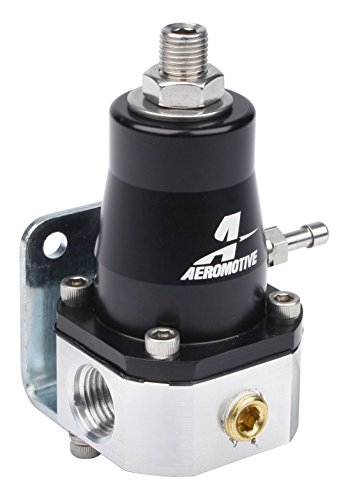 Aeromotive 13129 Regulator, EFI Bypass, Adjustable (2) -6 inlets, (1) -6 bypass Adjustable Fuel Pressure Regulator
