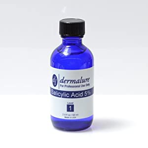 Salicylic Acid Peel 5% Acne Treatment 1oz. 30ml (Level) from Dermalure