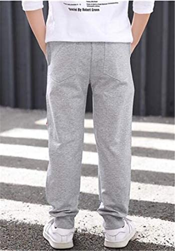 GloryA Boys Casual Cute Stretch Fit Sweatpants Cotton Pants