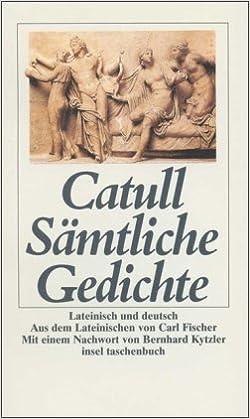Sämtliche Gedichte Lateinisch Und Deutsch Insel Taschenbuch