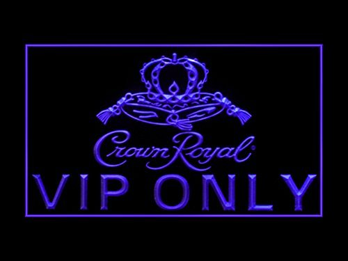 Crown Royal Whiskey VIP Only Led Light Sign ()