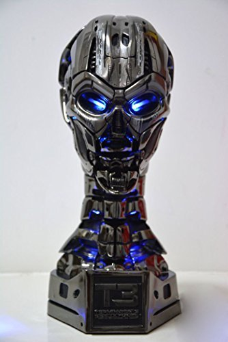 Gmasking Terminator T3 Tx Endoskeleton Skull Bust Statue Limited Edition 1:1 Replica