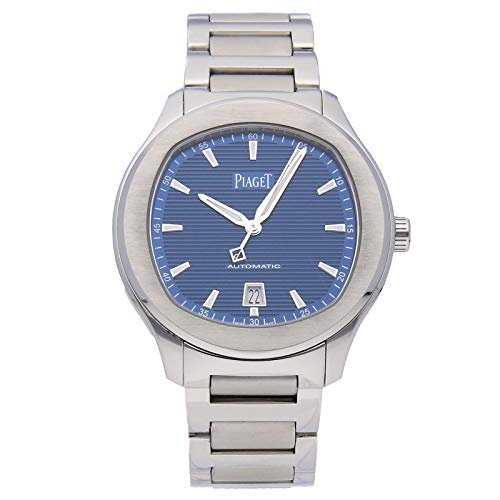 Piaget Polo S Mechanical (Automatic) Blue Dial Mens Watch G0A41002 (Certified Pre-Owned)