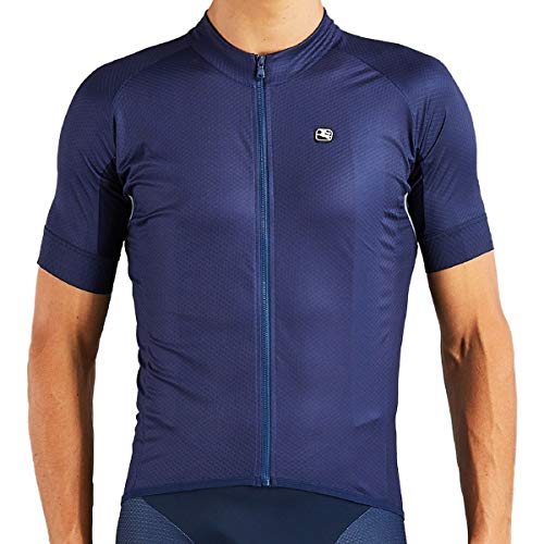 Giordana SilverLine Classic Short-Sleeve Jersey - Men's Navy, -