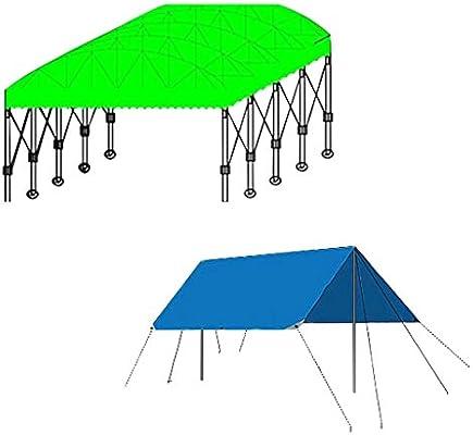 Lonas de Trabajo Pesado | Funda Impermeable para Remolque Tienda de campaña | Lona Multicapa en Muchos tamaños | Blanco | Espesor 0,8 mm | 500g / m² | 15 Tallas Disponibles (