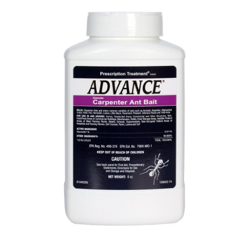 8 oz Advance Granular Carpenter Ant Bait ~~ Kills: Carpenter Ants , Acrobat , Argentine , Bigheaded , Crazy , Field , Little Black , Pavement , Pharoah , House , and Theif Ants