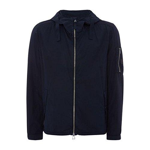 ヒューゴボス メンズ ジャケット&ブルゾン OlvaroD Cottom Hooded Zip-up Jacket [並行輸入品] B07BF5N41B Medium