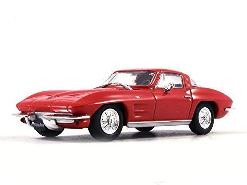 Chevrolet Corvette C3 Stingray (1973) 1:43 Scale Red Color De Agostini American Sports Coupe Diecast Model -